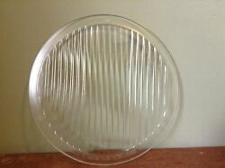 Vintage Spreadlight 9 X 8 Mckee Old Clear Glass Head Light Lamp Lens Antique
