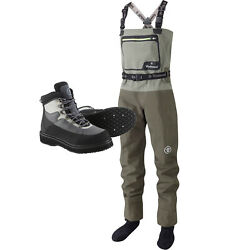 Wychwood New Sds Gorge Breathable Chest Fly Fishing Waders And Boots – All Sizes