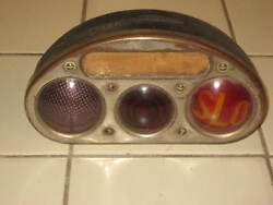Stude Studebaker Vintage Unique Combo Slo Tail Tag Turn Light Car Truck Old