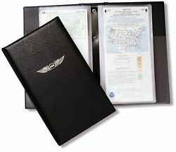 Asa Large Binder/book-style Chart Wallet - Holds Up To 22 Charts - Asa-cw-22