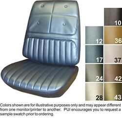 1970 Oldsmobile Cutlass Supreme Front Seat Covers Pui