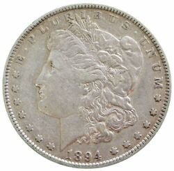 1894 Silver United States Morgan 1 Dollar Condition Extremely Fine Condition