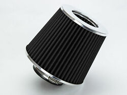 2.5 Cold Air Intake Filter Universal Black For F Series/super Duty/f-100/ranger