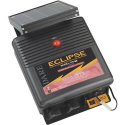 2-dare Eclipse 12v Solar Powered 12-1/2 X 6 X 15 Electric Fence Charger Ds40