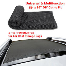 39and039and03936and039and039 Roof Cargo Bag Protective Mat Car Storage Extra Padding Grip Rack Rug