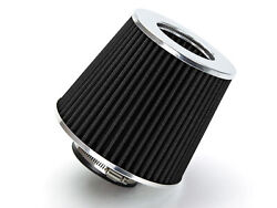 2.5 Cold Air Intake Filter Universal Black For A45/c32/c36/c43/c55/c63/c450/amg