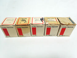 Cutler-hammer Rubber Boot Push Button Covers 10250ta3 And 10250ta4 Lot Of 5 Bnib