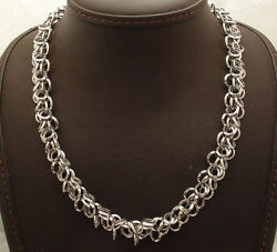 Qvc Multi Circle Rolo Charm Link Chain Necklace Real 14k White Gold 18 20