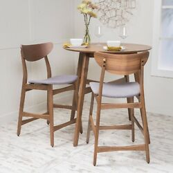 Molle Mid Century Design 24-inch Counter Stools Set Of 2