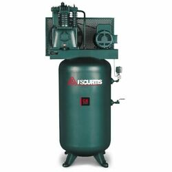 Fs-curtis Ca5and43 5-hp 80-gallon Two-stage Air Compressor 200-208v 3-phase