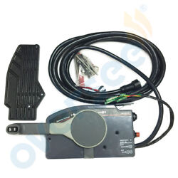 Outboard Remote Control Box 10Pin Cable 703-48205-17 PUSH Throttle for Yamaha
