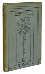 The Wild Swans At Coole William Butler Yeats First Us Edition 1919 1st Dj