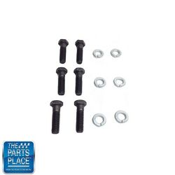 1962-88 Gm Cars Pressure Plate To Flywheel Bolt Set- 12 Pieces