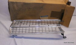 Genuine Nos Take-off Mopar 1967 Plymouth Valiant Chrome Grille Right Side
