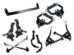 Ridetech 64-66 Mustang Front Tru Turn System Control Arms Spindles Steering Arm