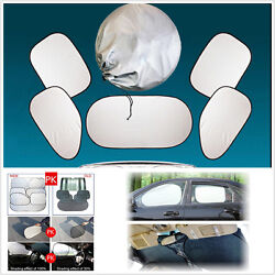 Windshield Curtai Sun Shade Visor Heat Block Screen Ray Folding Cover For Car $22.01