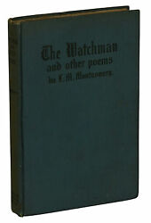 The Watchman L. M. Montgomery First Edition 1916 1st Anne Of Green Gables