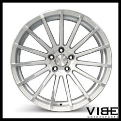 20 Ace Devotion Silver Concave Wheels Rims Fits Ford Mustang Shelby Gt Gt500