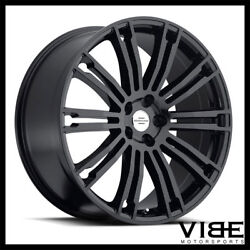 22 Redbourne Manor Gloss Black Wheels Rims Fits Range Rover Hse Supercharged