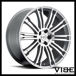 22 Redbourne Manor Silver Wheels Rims Fits Range Rover Sport Hse Supercharged