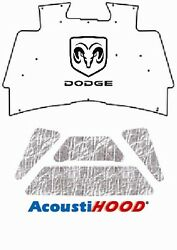 2002 2008 Dodge Truck 1500 Under Hood Cover With M-020 Dodge Ram