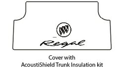 1973 1977 Buick Regal Trunk Rubber Floor Mat Cover With G-180 Buick Regal