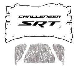 2008 2014 Dodge Challenger Under Hood Cover With Mcl-128 Challenger Srt