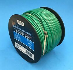 Deka 14awg Dk-green Marine Tinned Copper Boat Stranded Wire 100 Feet Made In Usa