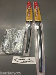 11-16 Scion Tc Front And Rr Wiper Blade Set New Genuine Toyota Sightline Type