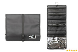 Hanging Toiletry Bag by Yofi Nurture Yourself: Organizer for Cosmetics Makeup