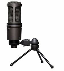 Audio-Technica - AT2020USB Plus USB Cardioid Condenser Microphone Professional