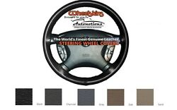 Buick Leather Steering Wheel Cover - Genuine Cowhide 6 Color Options Wheelskins