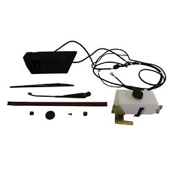 Polaris 17 In. Windshield Wiper And Washer Kit