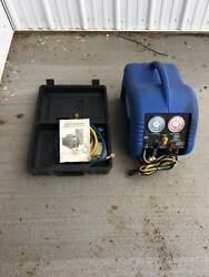 Used MASTERCOOL 69100 Refrigerant Recovery System No Tank