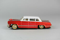 Antique Red China Tin Toy Mf996 Hongqi Car Red Flag Dongfeng Shanghai Me Ms