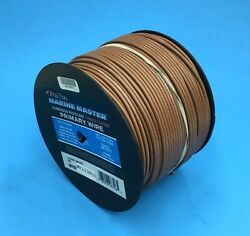 Deka 14 Awg Tan Marine Tinned Copper Boat Stranded Wire 100 Feet Made In Usa