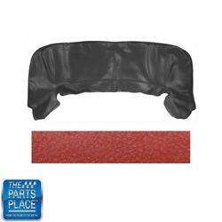 1968-72 Gm Cars Oem Convertible Vinyl Top Boot - And03970 Red