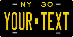 New York 1930 License Plate Personalized Custom Car Bike Motorcycle Moped Tag
