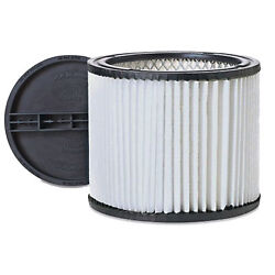 Vacuum Cleaner Cartridge Filter For Shop-vac 90304 And Retaining Lid 4518600