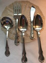 French Provincial By Towle Sterling Silver Serving Set 5pc A5