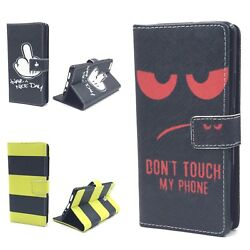 Pouch Book Style Frame Flip Cover Case Cover Motif Wallet