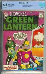 Showcase 23 Cbcs 6.5 White Pages // 2nd Appearance Silver Age Green Lantern