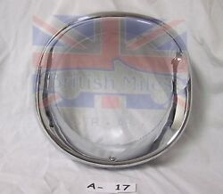 1950's Frenched Style Motorcycle / Hot Rod 7 Inch Head Lamp Rim