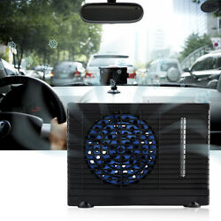 Universal 12V Portable Car Home Cooler Cooling Fan Water Ice Air Conditioner ES
