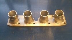 Vw 1.8 Kr And 2.0 Abf/9a Inlet Manifold To Suit Zx6r Zx9r And Cbr600 Bike Carbs