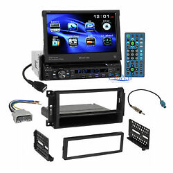 Planet Audio DVD Motorized Stereo Dash Kit Harness for 07+ Chrysler Dodge Jeep