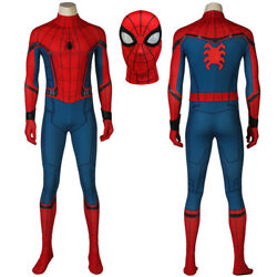 Spiderman Costume Peter Parker 3D Shade Spandex Fullbody Halloween Cosplay Suit