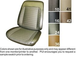 1970 Pontiac Grand Prix Front Bucket Seat Covers - Pui