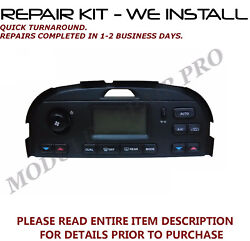 REPAIR KIT for 03 04 05 06 07 08 Jaguar S-Type AC HEATER CLIMATE CONTROL EATC