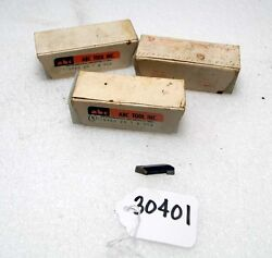 Lot Of Carbide Insert Cutters Inv.30401